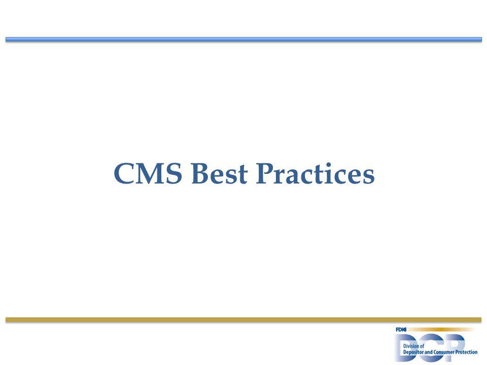 CMS Best Practices