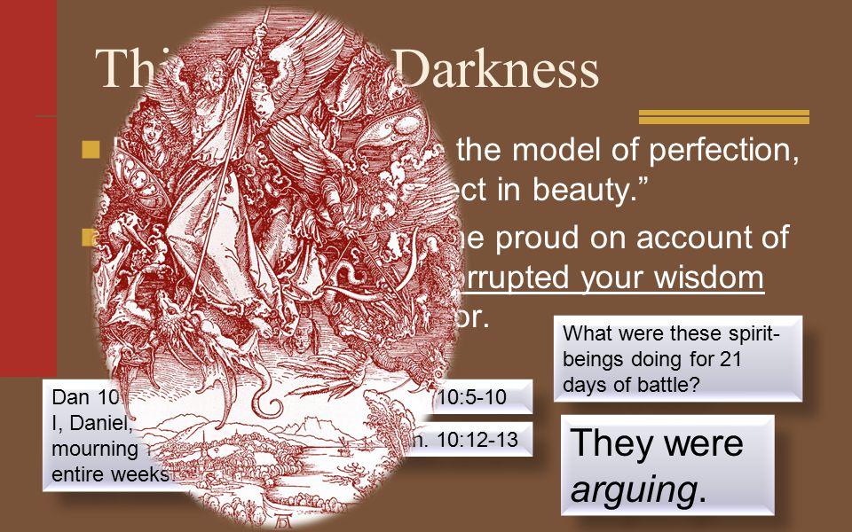 This Present Darkness Ezek.