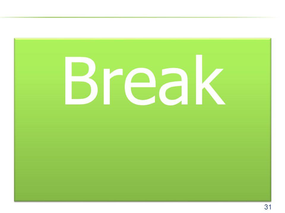 Break 31