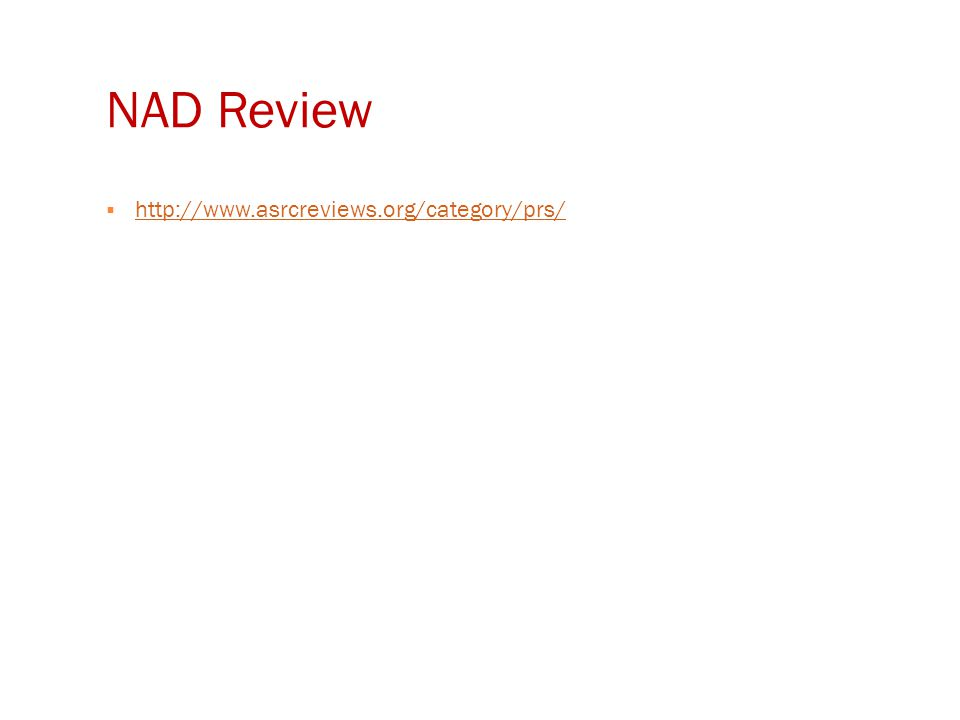 NAD Review  http://www.asrcreviews.org/category/prs/ http://www.asrcreviews.org/category/prs/