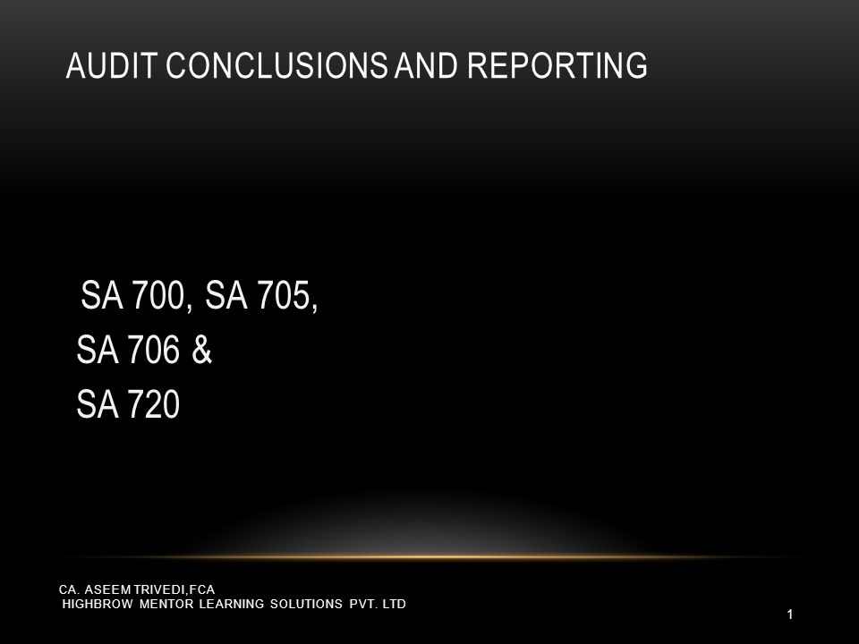 SA – 720 THE AUDITOR'S RESPONSIBILITY IN RELATION TO OTHER INFORMATION IN DOCUMENTS CONTAINING AUDITED FINANCIAL STATEMENTS CA.