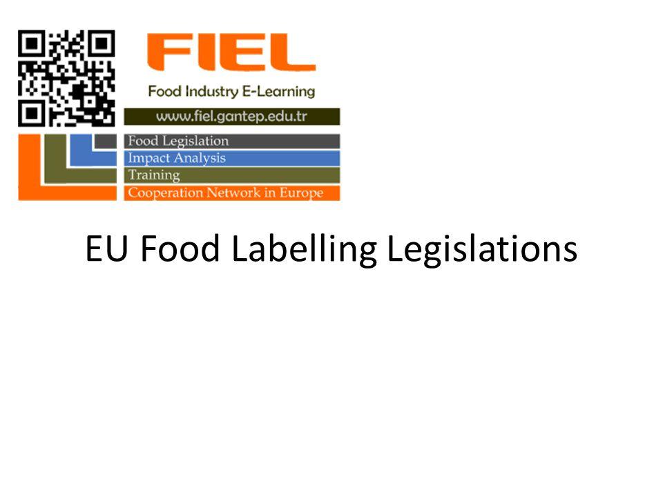 EU Food Labelling Legislations