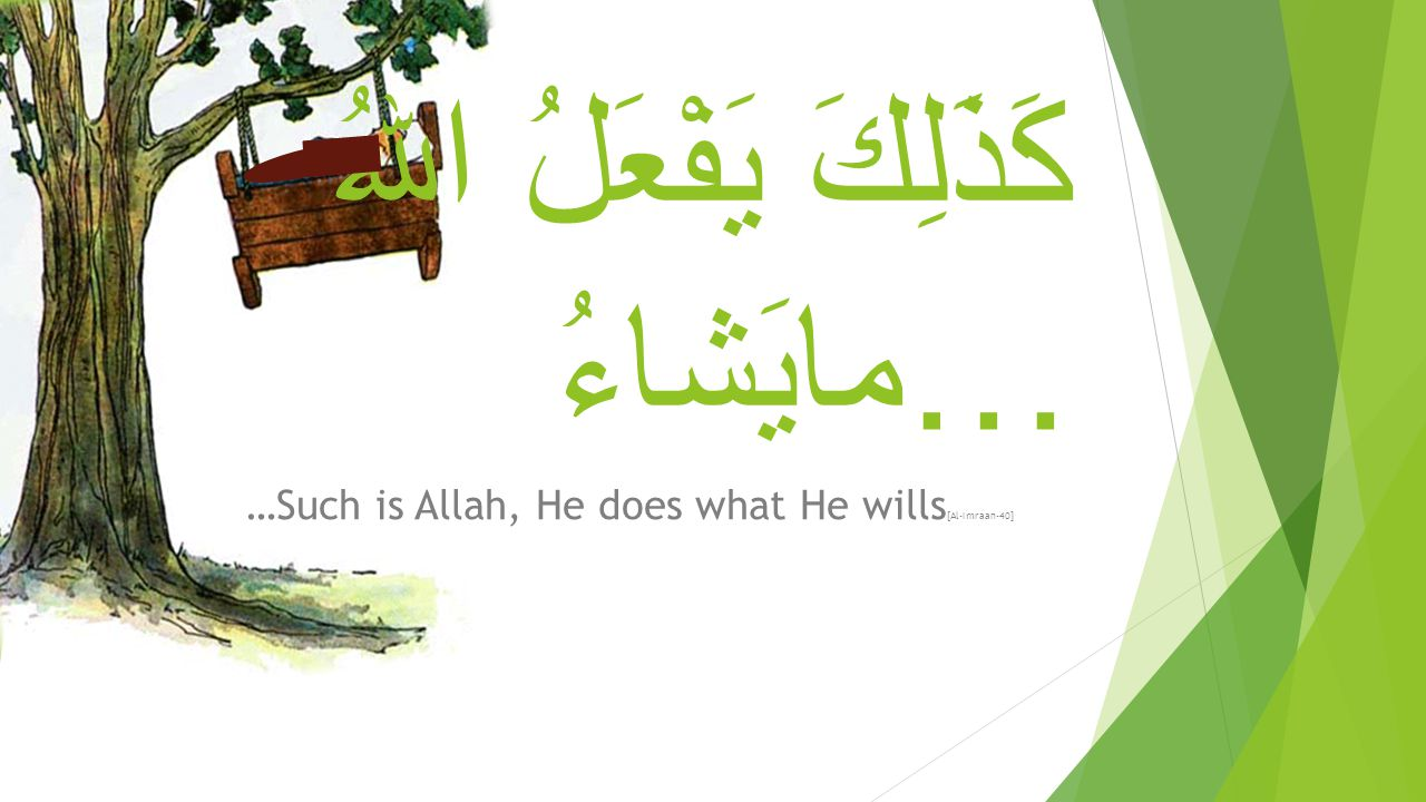 Miracles of Isa عليه و السلام 1.He would speak with the people when he was in the cradle.