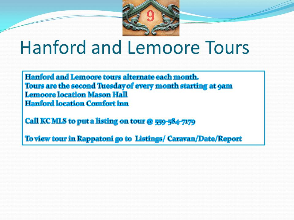 Hanford and Lemoore Tours