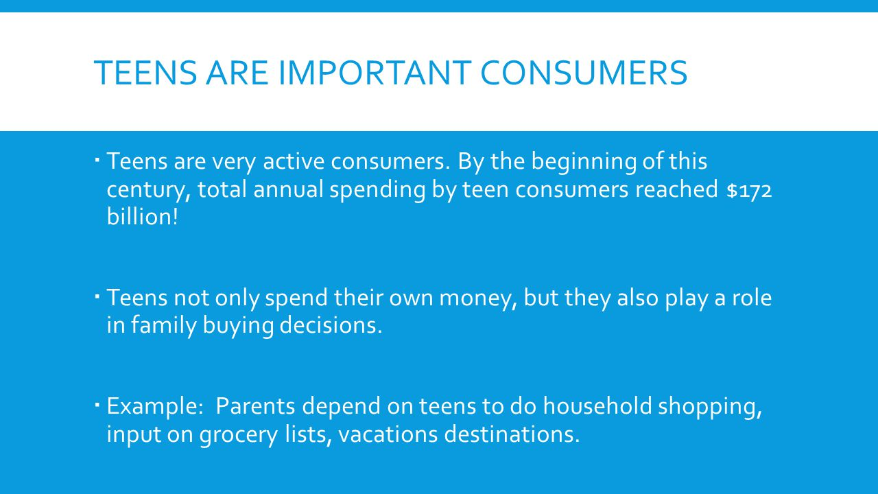 TECHNOLOGY AND THE CONSUMER  Technology has changed the way consumers shop.