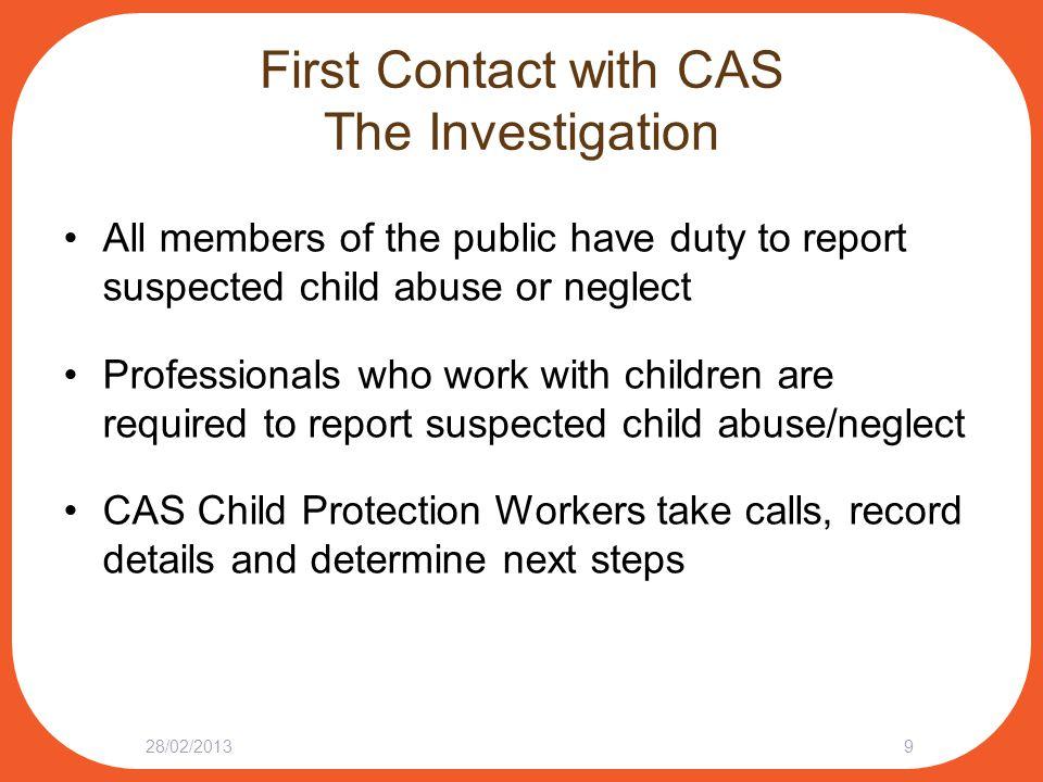 Next Steps: After the Investigation 28/02/201320