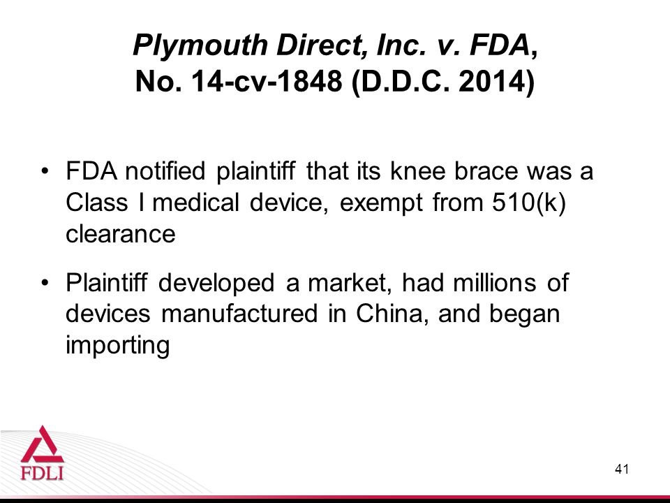 Plymouth Direct, Inc. v. FDA, No. 14-cv-1848 (D.D.C.