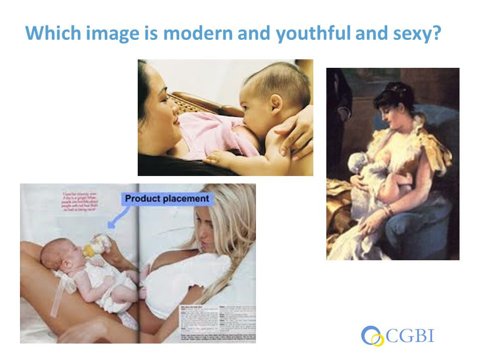 Which image is modern and youthful and sexy