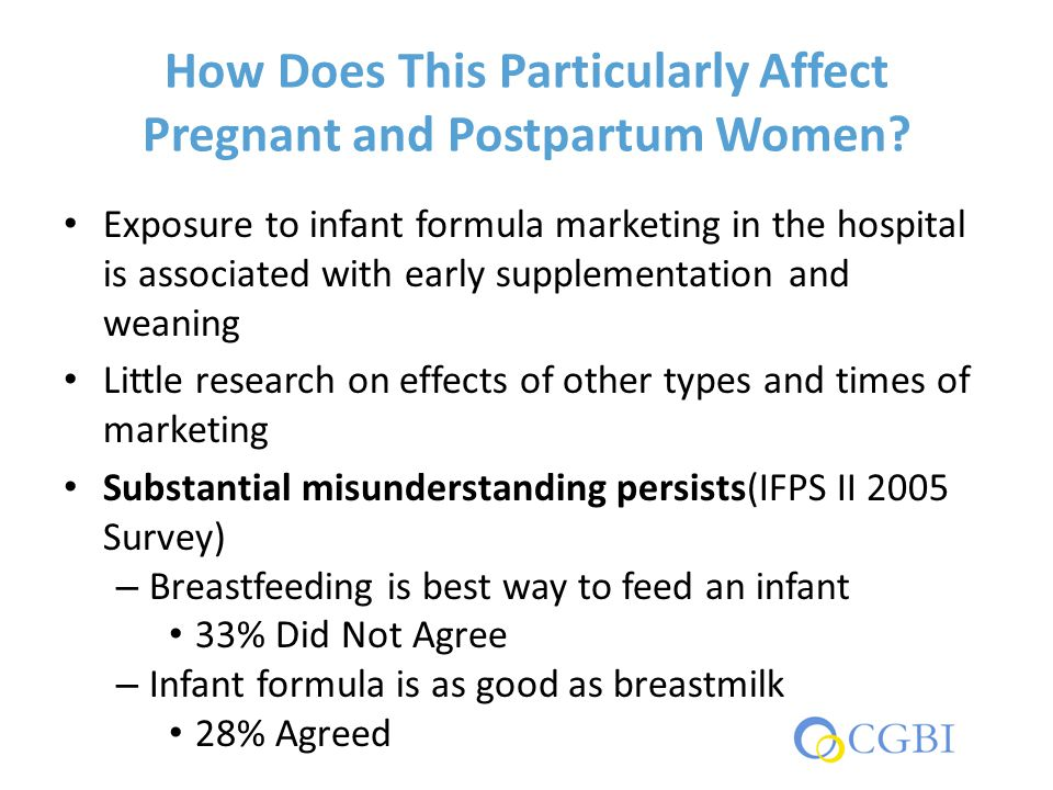 How Does This Particularly Affect Pregnant and Postpartum Women.