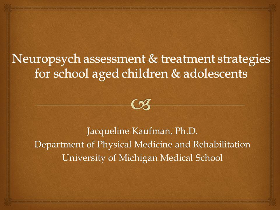 Jacqueline Kaufman, Ph.D.