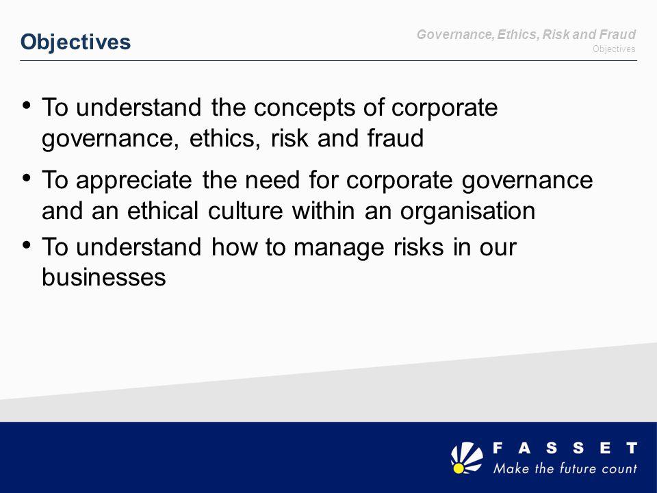 Risk Risk and Control Framework