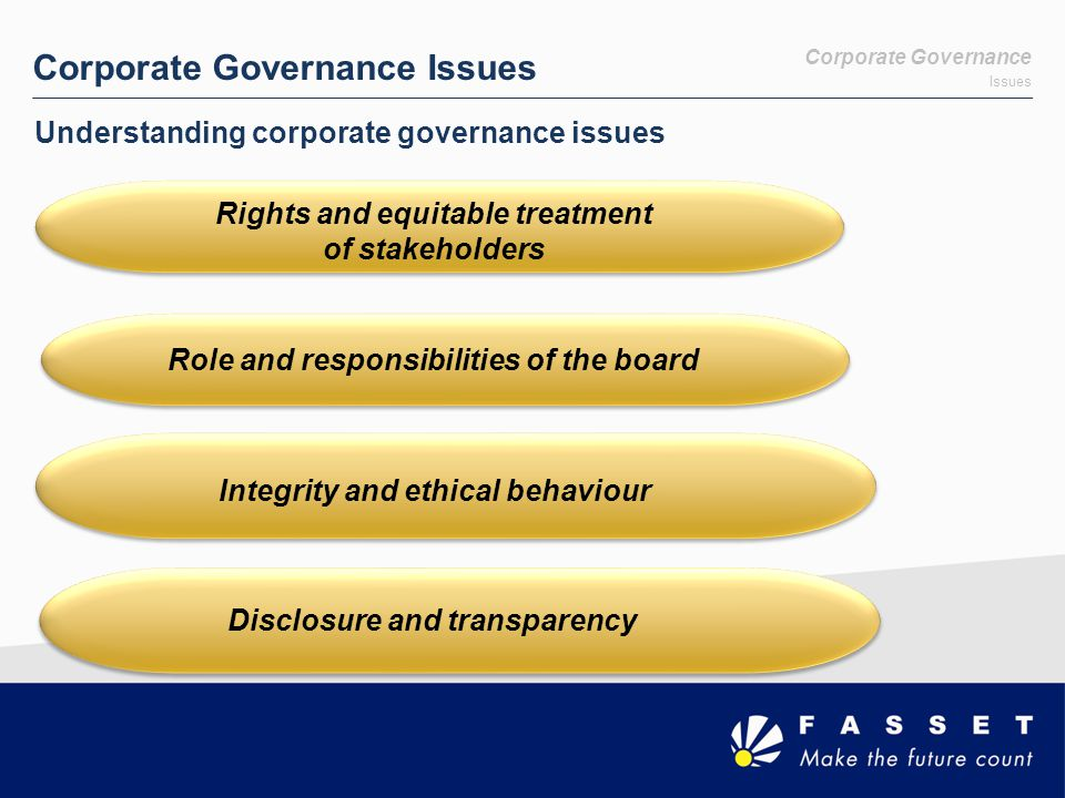 Risk The Board's Responsibilities - Contd Thus Management must:  Design, Implement and Monitor the Risk Management Plan.
