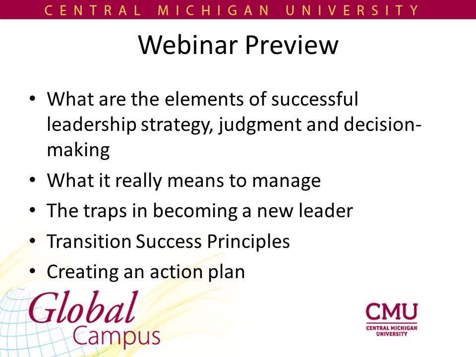 Principle 4: Create a personal vision Consistent with top priorities Links to core values Includes evaluative descriptors