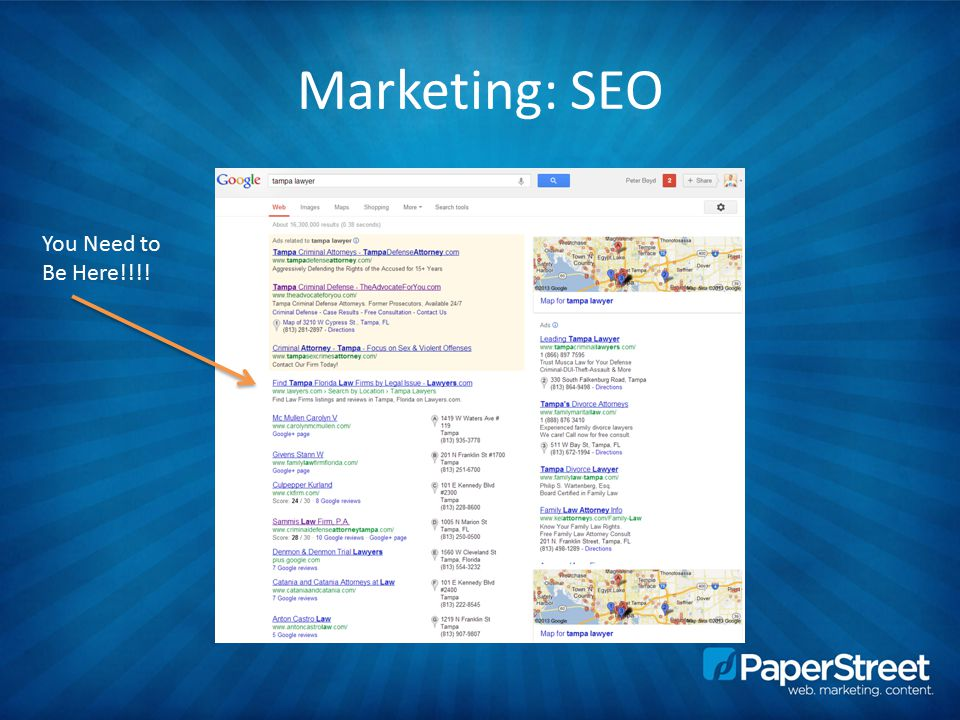 Marketing: SEO You Need to Be Here!!!!