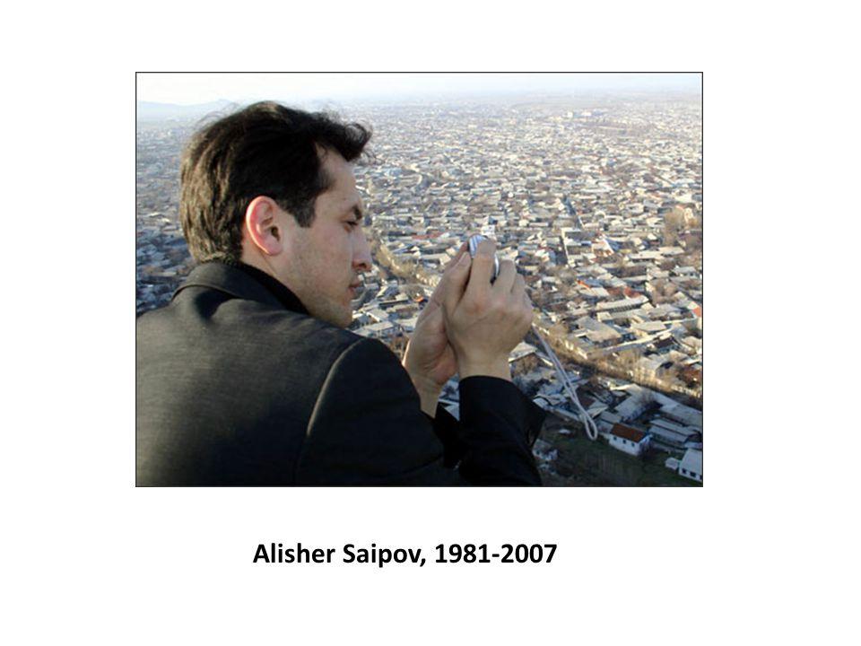 Alisher Saipov, 1981-2007