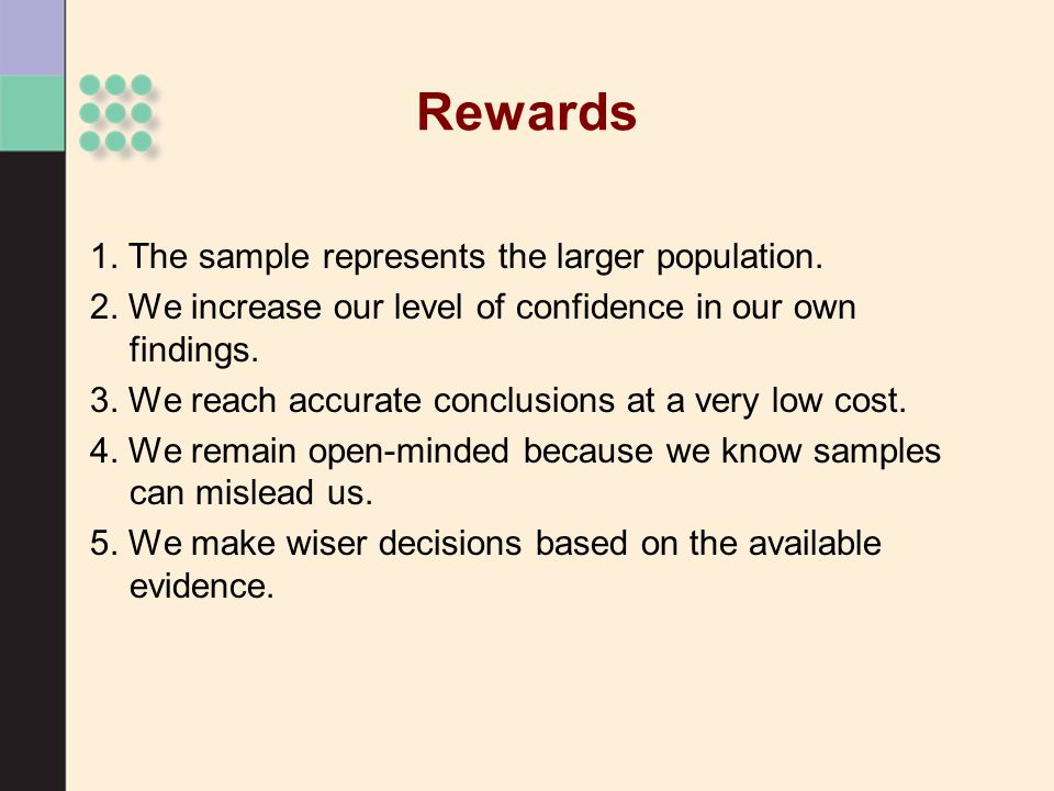 Inferential Statistics >Use rules of probability to test hypotheses >Use probability to make decisions How many dead grandmothers do you have?
