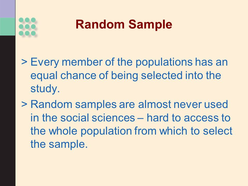 >Convenience sample Is one that uses participants who are readily available >Why would you use this instead of full random sampling.