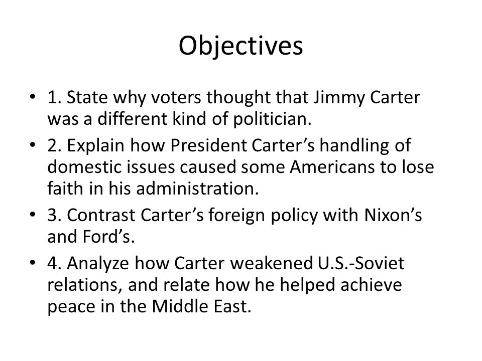 Activity Note the section's title and think about why a politician might be labeled an outsider.