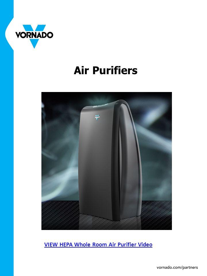 Air Purifiers VIEW HEPA Whole Room Air Purifier Video