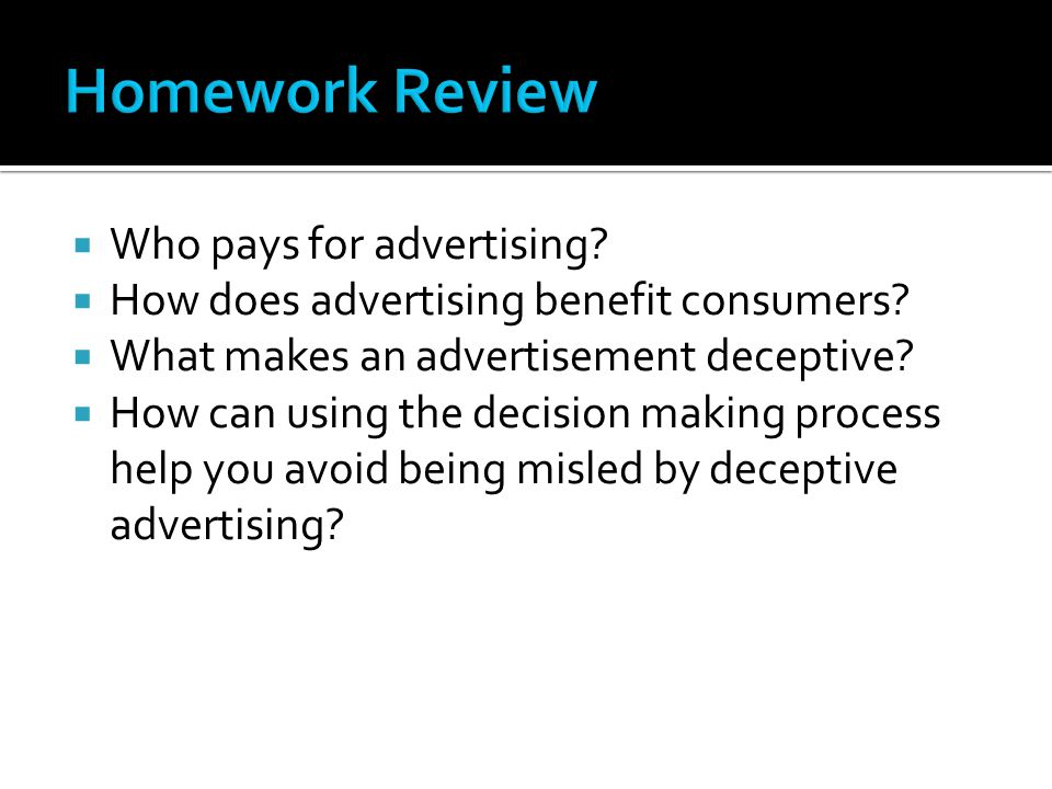 Who pays for advertising. How does advertising benefit consumers.