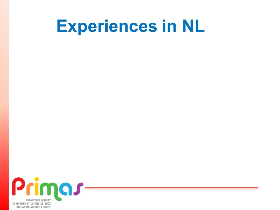 Experiences in NL