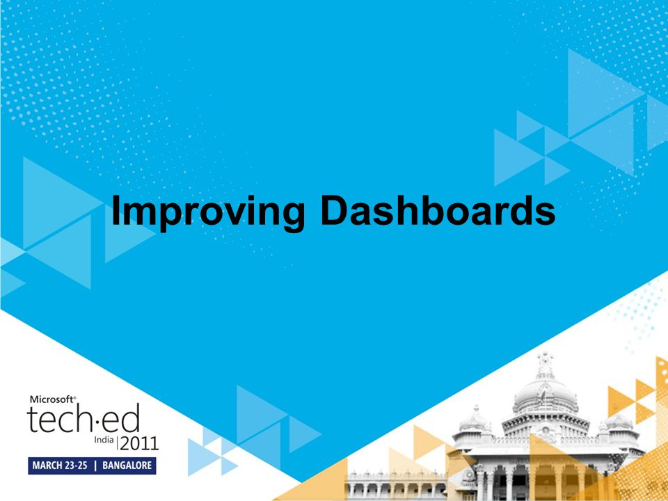 Improving Dashboards