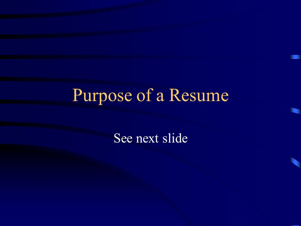 WRITING A WINNING RESUME Planning 10