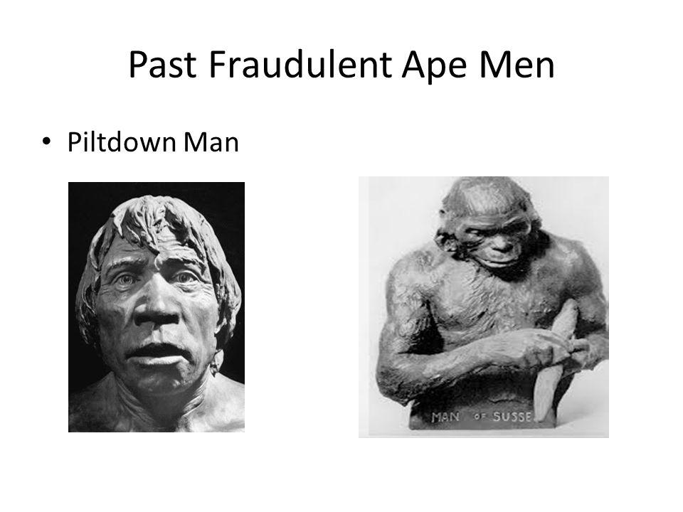 Past Fraudulent Ape Men Piltdown Man