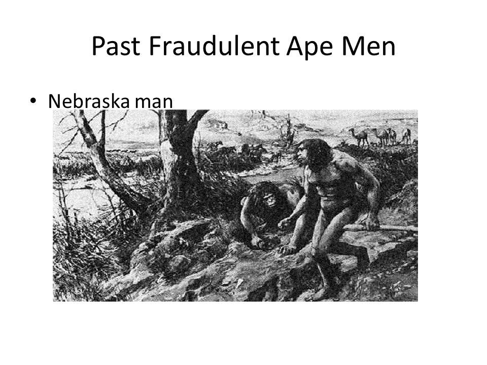 Past Fraudulent Ape Men Nebraska man