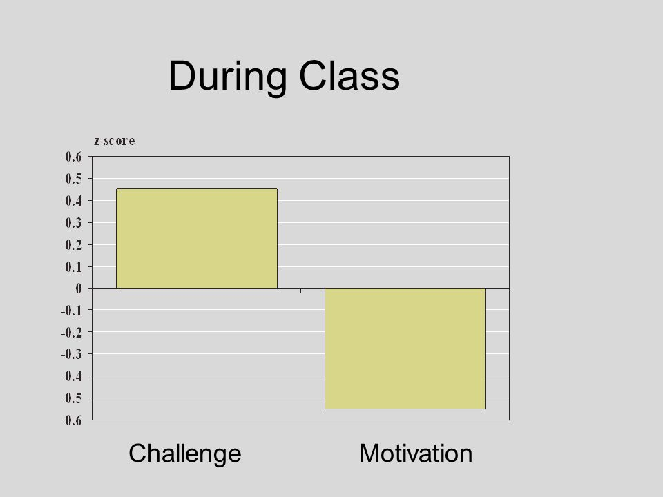 During Class Challenge Motivation