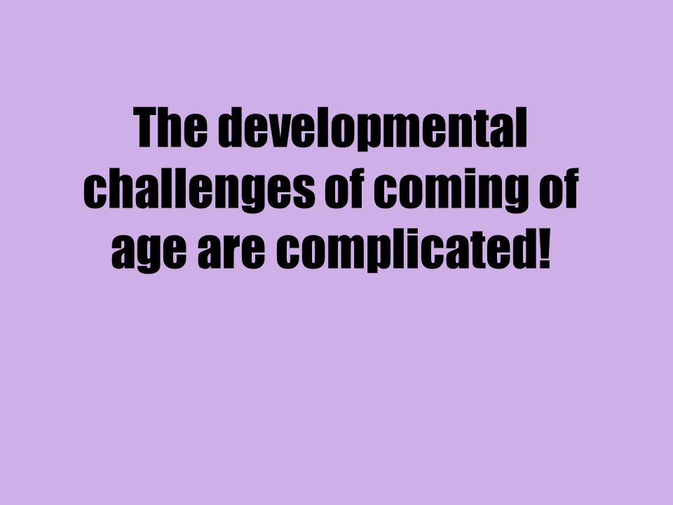 III. Emotional Development in Youth Programs and Sports (Child Development, 2007)