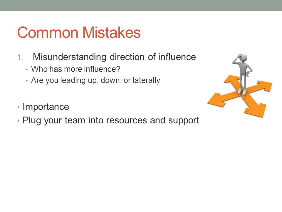 Common Mistakes 2.