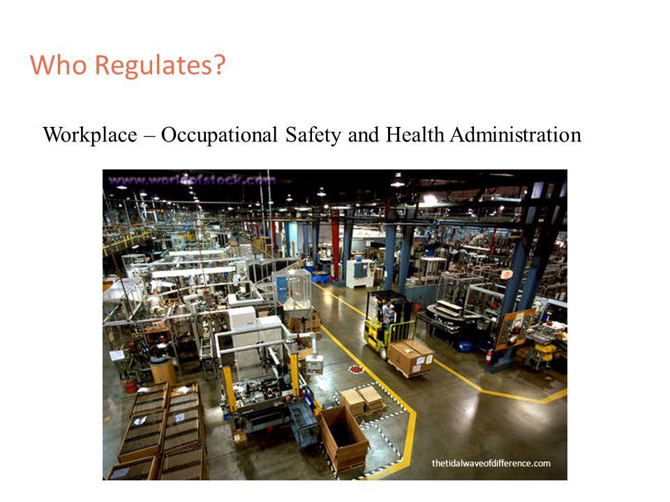 Who Regulates.