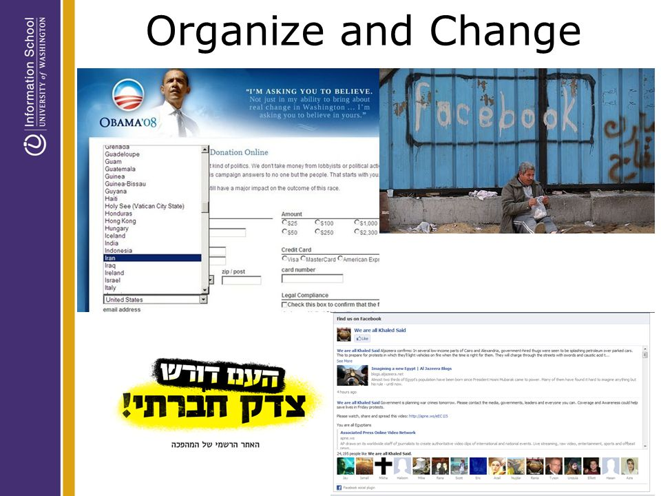 Organize and Change
