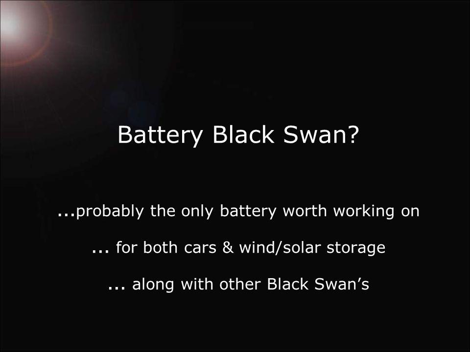 Battery Black Swan.
