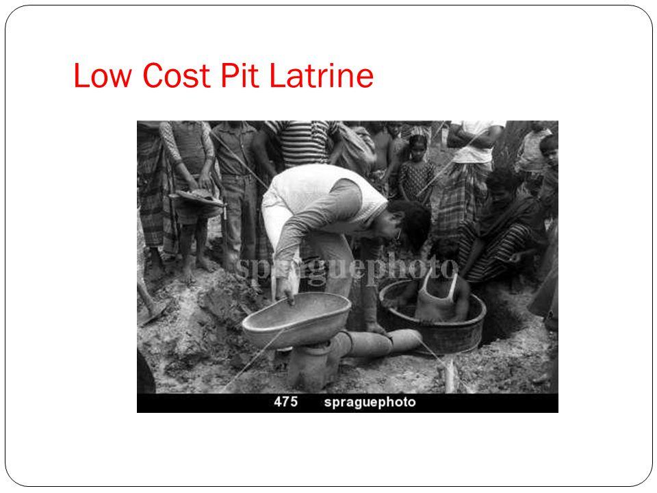 Low Cost Pit Latrine