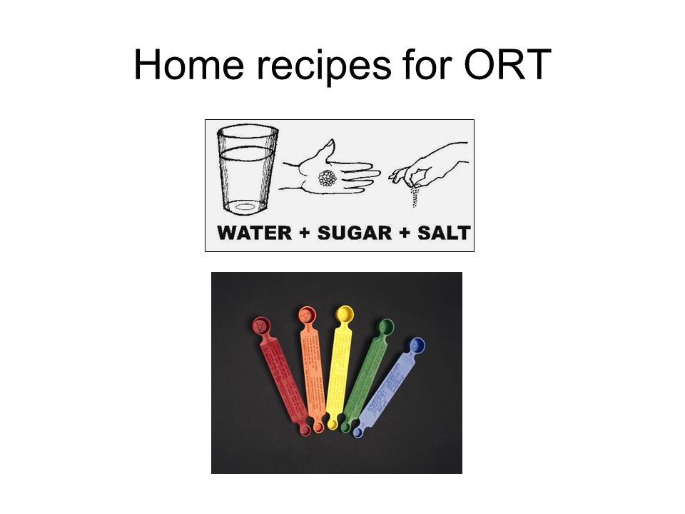 Home recipes for ORT