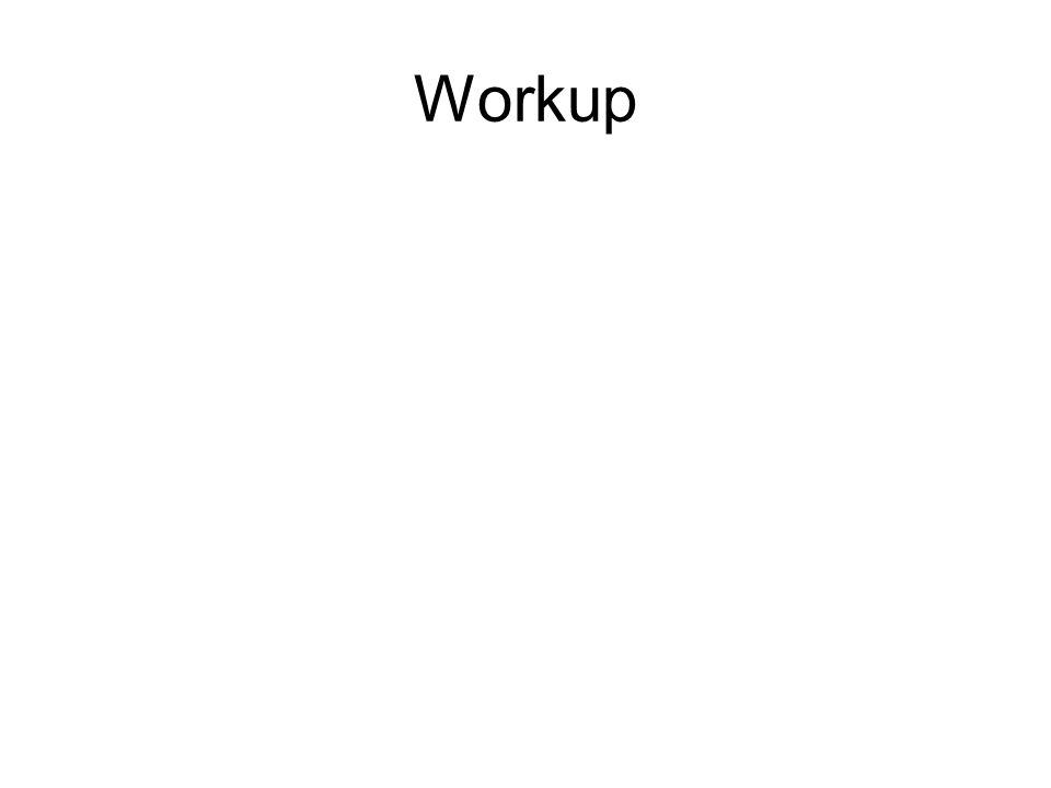 Workup