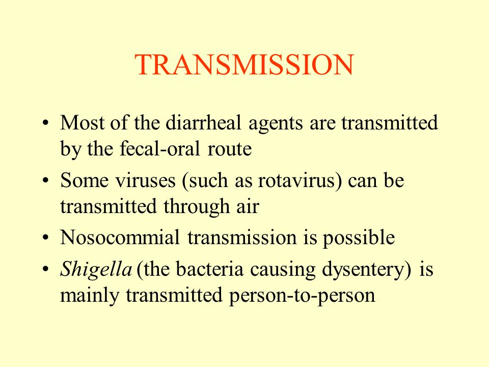CLINICAL FEATURE: SHIGELLOSIS Frequent passage of scanty amount of stools, mostly mixed with blood and mucus Moderate to high grade fever Severe abdominal cramps Tenesmus– pain around anus during defecation Usually no dehydration