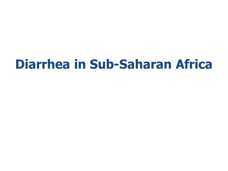 Diarrhea in Sub-Saharan Africa