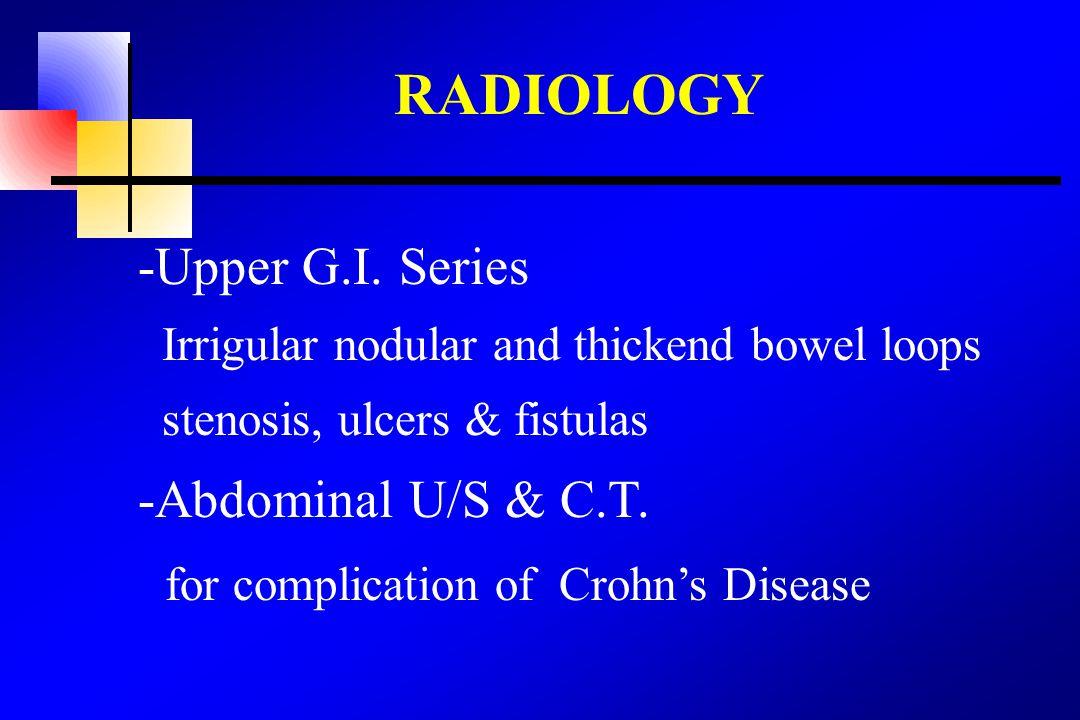 RADIOLOGY -Upper G.I.