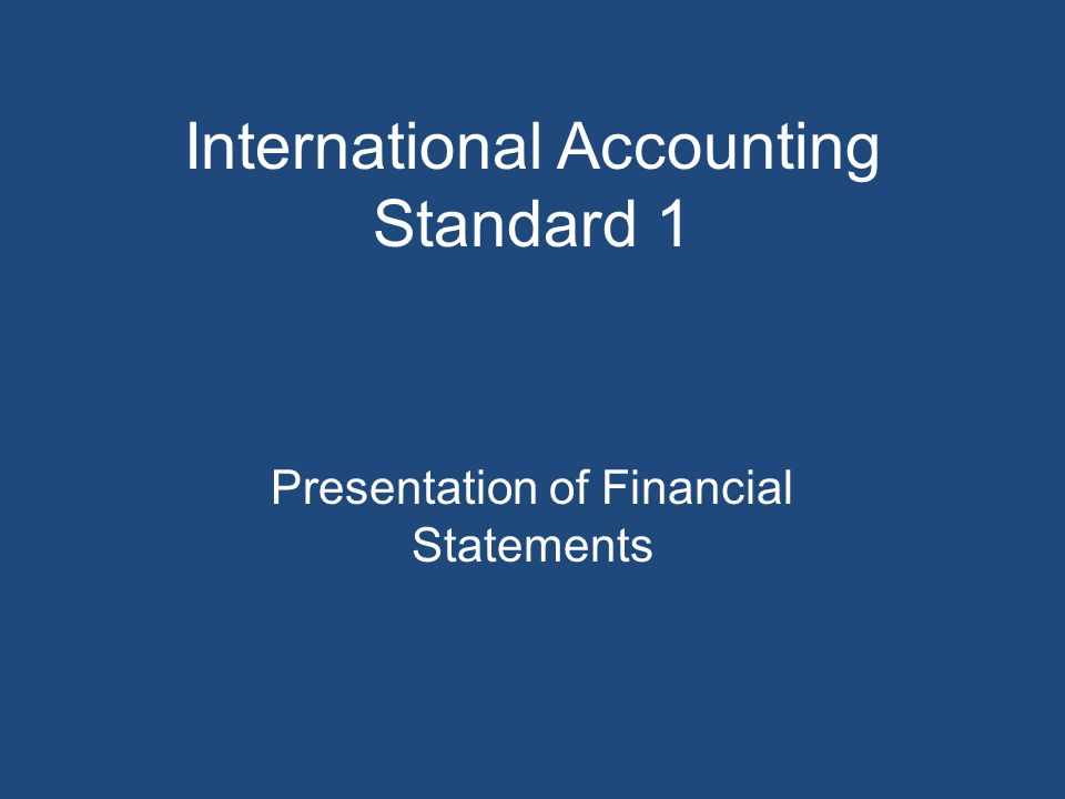 Identification of the financial statements the financial statements and distinguish them from other information in the same published document each financial statement and the notes.