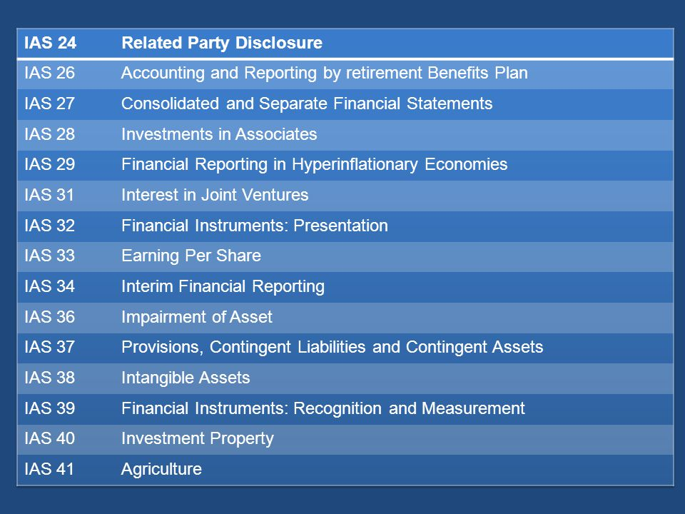 Current assets All other assets as non current The asset is cash or cash equivalent (IAS 7) unless the asset is restricted from being exchanged or used to settle a liability for at least twelve months after the reporting period It expects to realize the asset within twelve months after reporting period; or It holds the asset primarily for the purpose of trading; Entity expects to realize the asset, or intends to sell or consume, in its normal operating cycle;