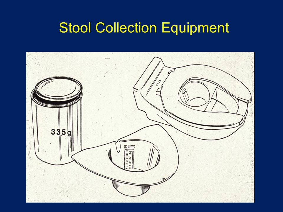 Stool Collection Equipment