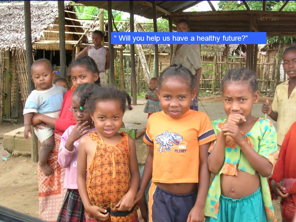 Will you help us have a healthy future