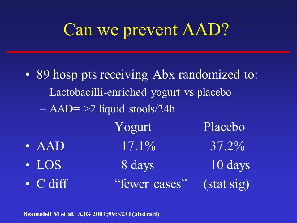 Can we prevent AAD.