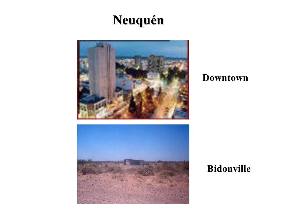 Neuquén Downtown Bidonville