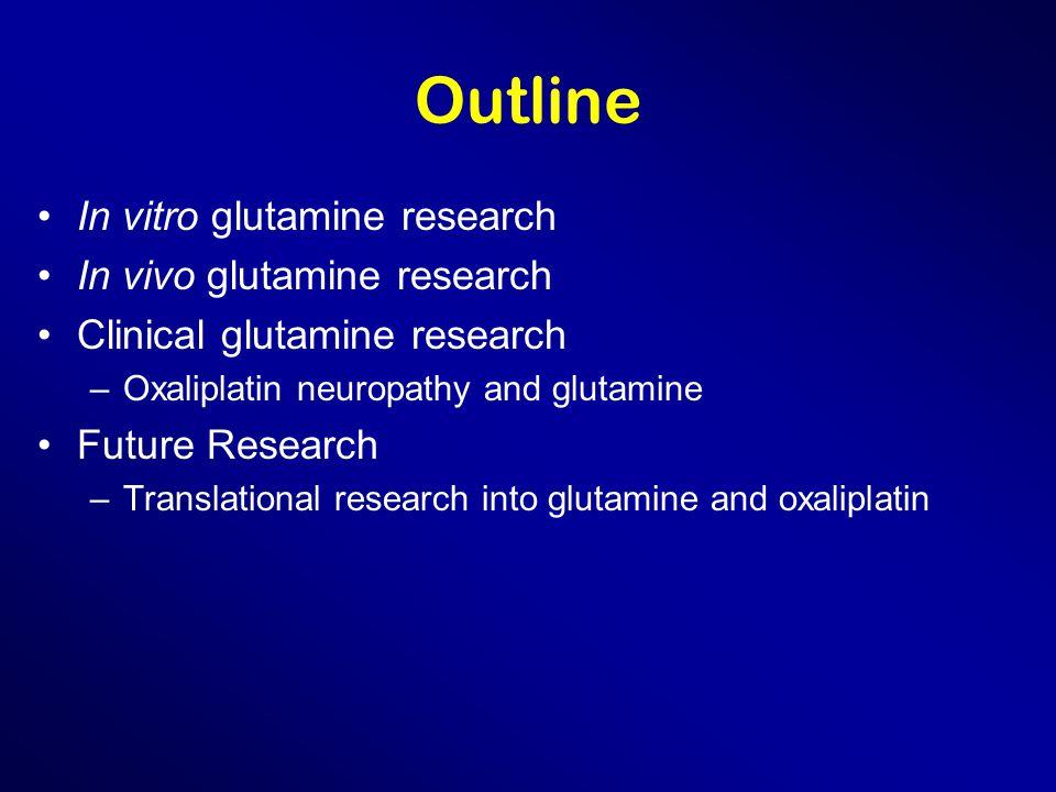 Sanofi's Glutox Study Using FOLFOX Randomized placebo controlled Starting glutamine/placebo two days before chemotherapy Looking at diarrhea