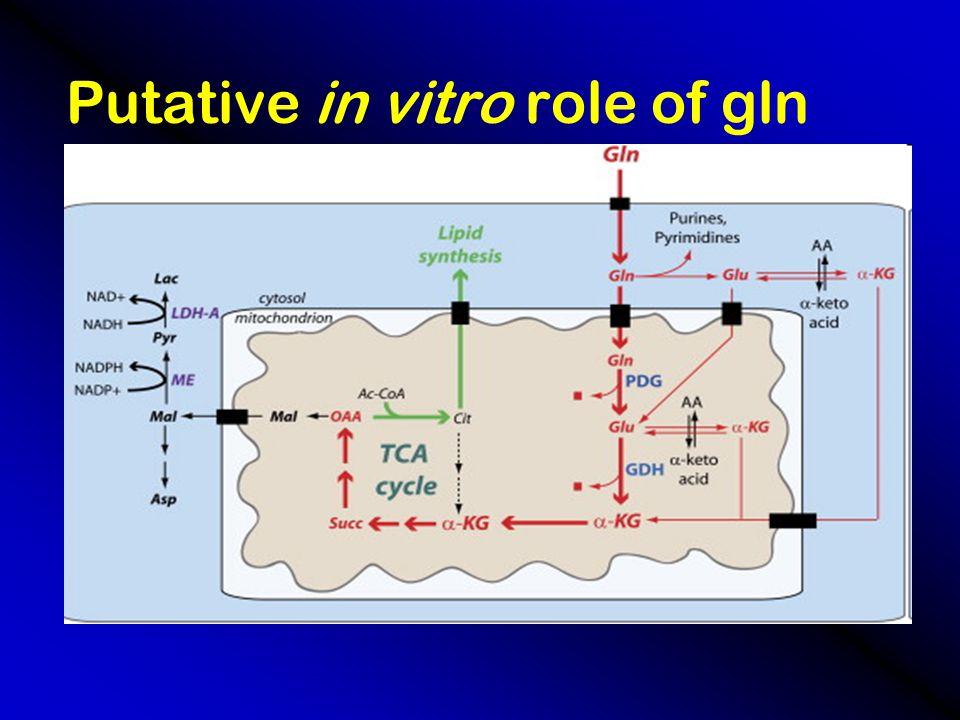 Glutamine Effects on  -Glucuronidase vs. control diet + irinotecan Stress response study