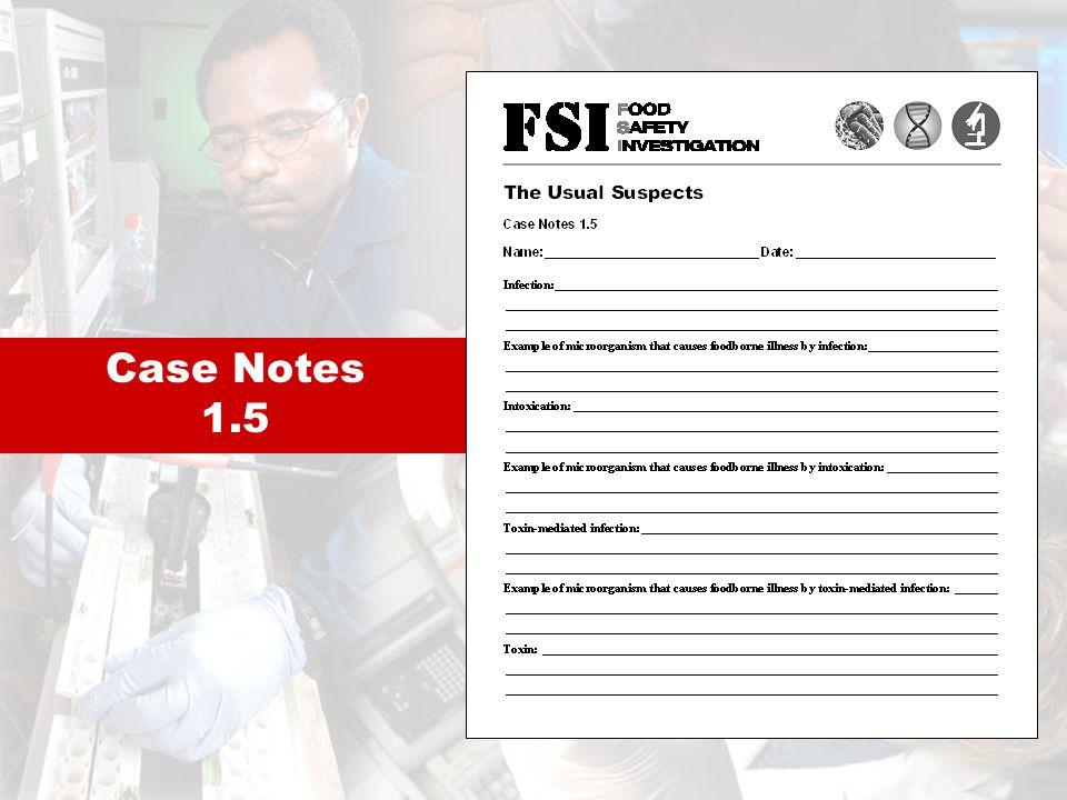 Case Notes 1.5